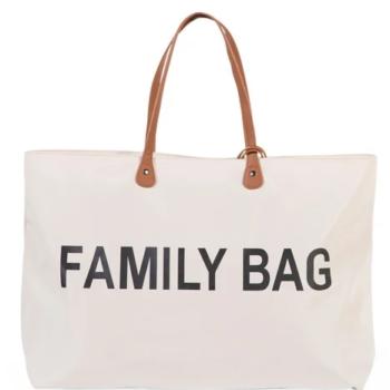 Childhome τσάντα αλλαγης family bag off white - Αξεσουάρ - Τσάντα - creamsndreams.gr
