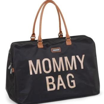 Childhome τσάντα αλλαγης mommy bag big black gold - Αξεσουάρ - Τσάντα - creamsndreams.gr