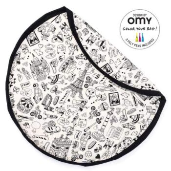 Play&Go Στρώμα παιχνιδιού-τσάντα 2 σε 1 OMY Paris 8 - Διακόσμηση - Αποθήκευσης - creamsndreams.gr