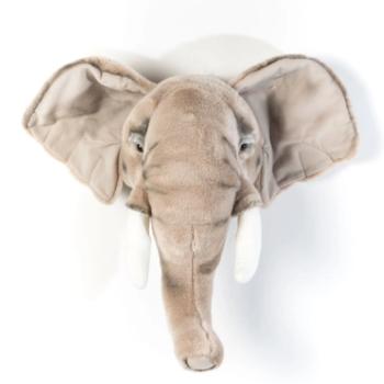 wild & soft Διακοσμητικό Κεφάλι Ελέφαντα George -Διακόσμηση - Τοίχου - Creamsndreams.gr
