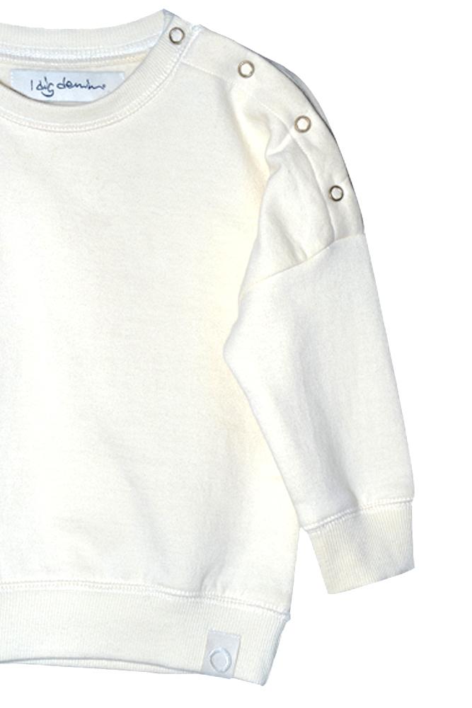 Blake sweater organic ecru close