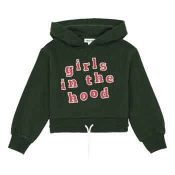 Hundred Pieces Girls in the hood hoodie 1 - Παιδικό ρούχο - creamsndreams.gr