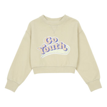 Hundred Pieces Go Youth Sweater beige 1 - Παιδικό ρούχο - creamsndreams.gr