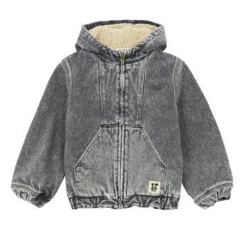 Hundred Pieces Jeans Jacket with sheepskin 1 - Παιδικό ρούχο - creamsndreams.gr