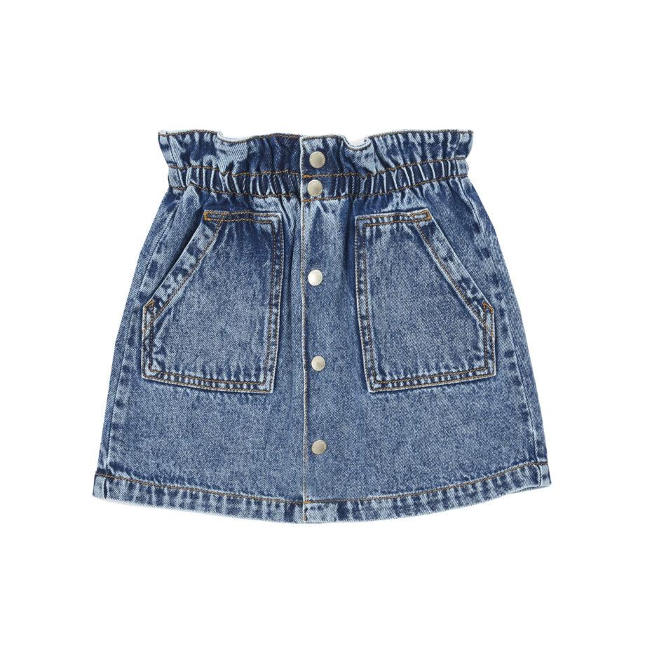 Hundred Pieces Jeans Skirt 1 - Παιδικό ρούχο - creamsndreams.gr