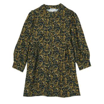 Hundred Pieces Leopard dress 1 - Παιδικό ρούχο - creamsndreams.gr