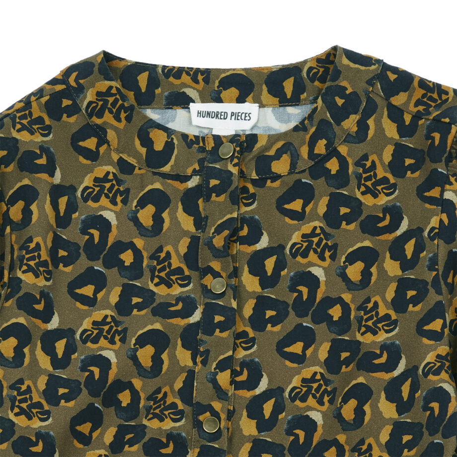 Hundred Pieces Leopard dress 2 - Παιδικό ρούχο - creamsndreams.gr