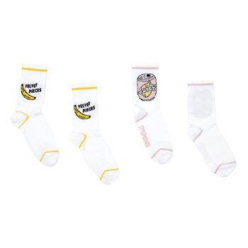 Hundred Pieces banana socks two pack - Παιδικό ρούχο - creamsndreams.gr