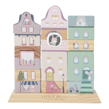 Little Dutch Ξυλινο Παιχνιδι Δεξιοτητας Και Συνθεσης Adventure Pink - Παιχνίδια - Ξύλινα - creamsndreams.gr