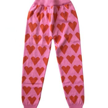 Little Man Happy Love Knit Leggings - Παιδικό ρούχο - creamsndreams.gr