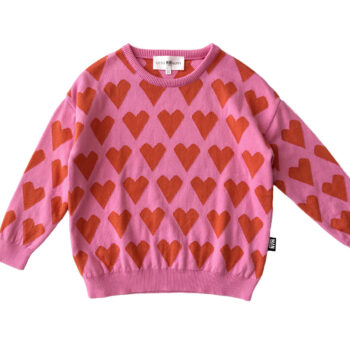 Little Man Happy Love Knit Sweater 1 - Παιδικό ρούχο - creamsndreams.gr