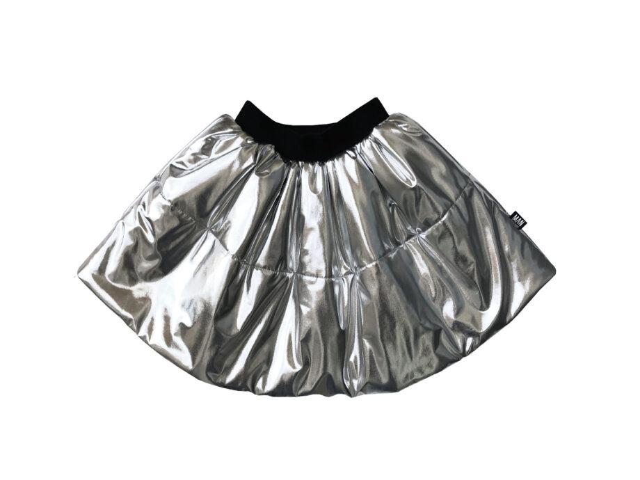 Little Man Happy Silver Sky circle skirt - Παιδικό ρούχο - creamsndreams.gr