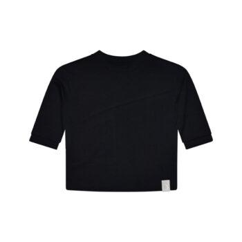 Loke LS tee organic black back