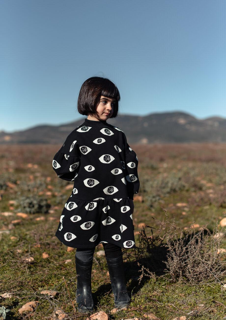 MOOD Little Man Happy AW020 #eyeshighcollardress
