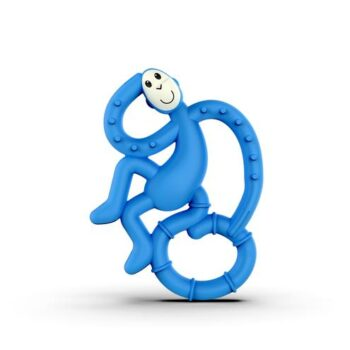 Matchstick Monkey Mini Μασητικό Blue - Αξεσουάρ - Βρεφικά - creamsndreams.gr