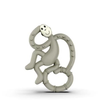 Matchstick Monkey Mini Μασητικό Grey- αξεσουάρ - Βρεφικά - creamsndreams.gr