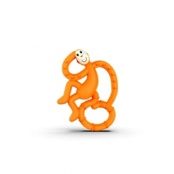 Matchstick Monkey Mini Μασητικό Orange - αξεσουάρ - Βρεφικά - creamsndreams.gr
