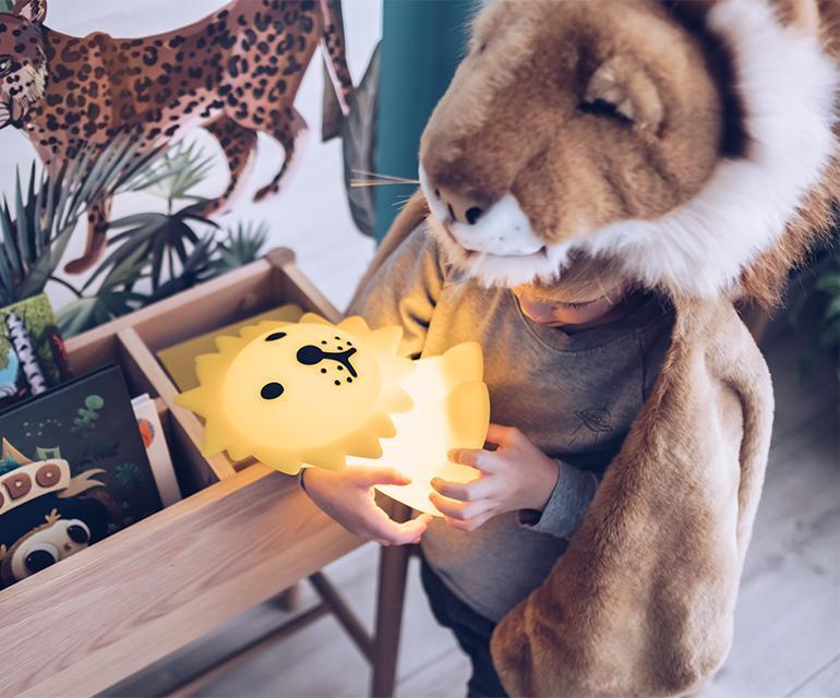 Mr. Maria Φωτιστικό Νυχτός Λιοντάρι - Διακόσμηση 3 - Φωτιστικά - creamsndreams.gr