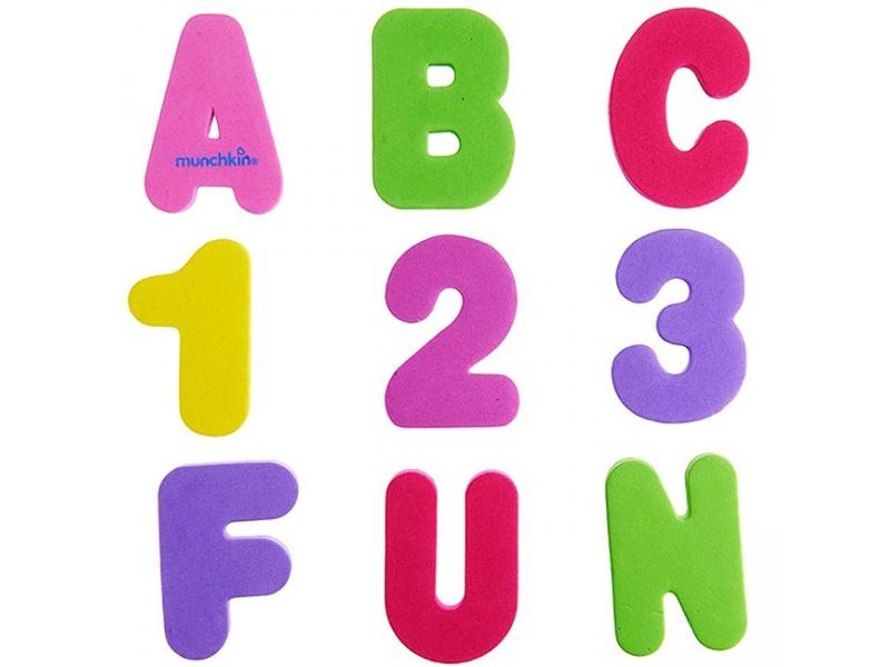 Munchkin Learn Εκπαιδευτικό Παιχνίδι Μπάνιου Με Γράμματα & Αριθμούς - Παιχνίδια - Μπάνιου - creamsndreams.gr
