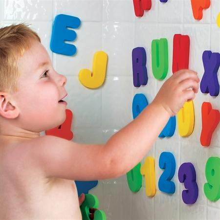 Munchkin Learn Εκπαιδευτικό Παιχνίδι Μπάνιου Με Γράμματα & Αριθμούς 5- Παιχνίδια - Μπάνιου - creamsndreams.gr