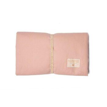 Nobodinoz Φορητή ΑδιάΒροχη ΑλλαξιέΡα Mozart Misty Pink - Διακόσμηση - Λευκά είδη - creamsndreams.gr