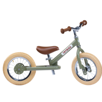 Trybike Ποδήλατο Ισορροπίας Πράσινο Vintage - Παιχνίδια - Ποδήλατα - creamndreams.gr