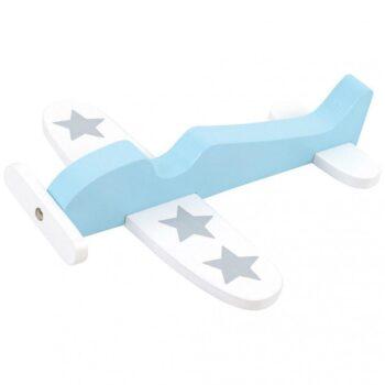 Jabadabado Ξύλινο αεροπλανάκι μπλε - Παιχνίδια - Ξύλινα - creamsndreams.gr