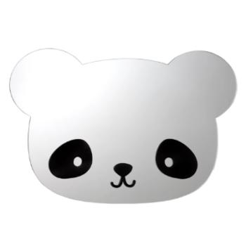a little lovely company καθρεφτης panda - Διακόσμηση - Τοίχου - creamsndreams.gr