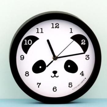 a little lovely company ρολόι τοίχου panda - Διακόσμηση - Τοίχου creamsndreams.gr