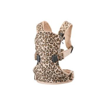 babybjorn μαρσιπός one leopard beige - Αξεσουάρ - Βόλτα - creamsndreams.gr