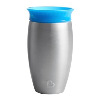 munchkin blue stainless miracle cup - αξεσουάρ - Κουζίνα - creamsndreams.gr