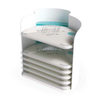 nanobebe breast milk storage bags and organizer -Αξεσουάρ - βρεφικά - creamsndreams.gr