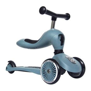 Scoot & ride highway-kick-1-steel - Παιχνίδια - Πατίνια - creamsndreams.gr