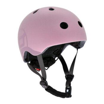 Scoot & ride kids-helmet-rose-s-m - Παιχνίδια - Πατίνια - creamsndreams.gr