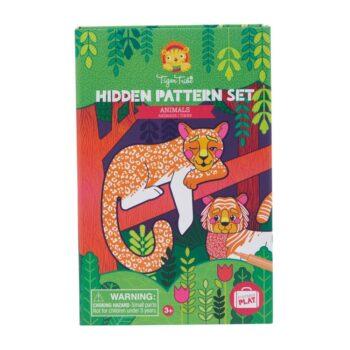 Tiger Tribe Μπλοκ Ζωγραφικής Με Κρυμμένες Εικόνες Ζώα - παιχνίδια - δημιουργικά - creamsndreams.gr