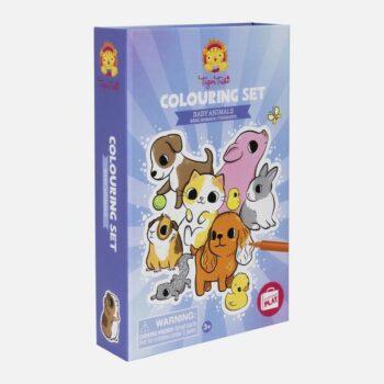 Tiger Tribe Μπλοκ Ζωγραφικης Και Κολάζ Baby Animals - Παιχνίδια - Δημιουργικά - creamsndreams.gr