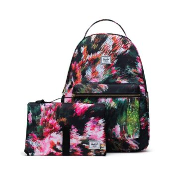 herschel nova sprout bagpack pixel floral- Αξεσουάρ - Τσάντα - creamsndreams.gr