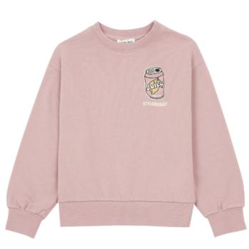 hundred pieces embroidered organic cotton sweatshirt - Παιδική μόδα - μπλουζες - creamsndreams.gr