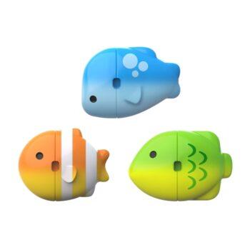 Munchkin Παιχνίδι Μπάνιου Colour Mix Fish Σετ 3τμχ 5 - Παιχνίδια - Μπάνιου - creamsndreams.gr