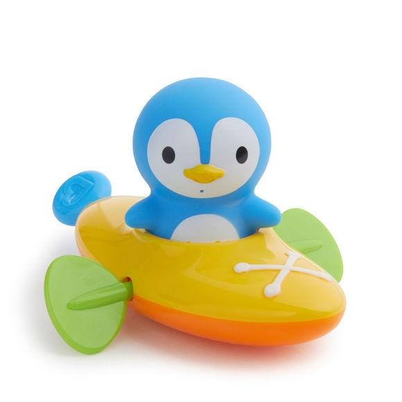 Munchkin παιχνίδι για το μπάνιο Paddlin Penguin ( κανό με πιγκουίνο ) 3- Παιχνίδια - Μπάνιου - creamsndreams.gr