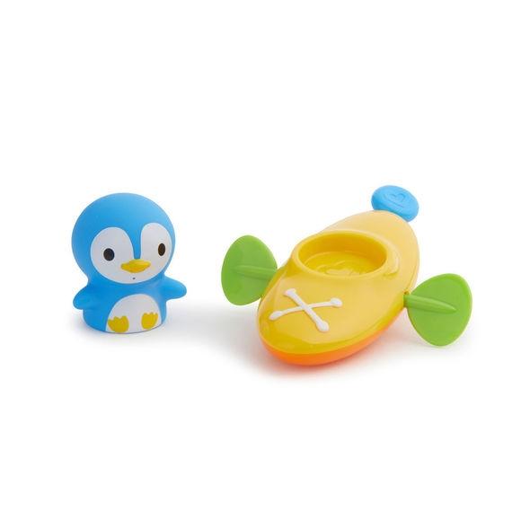 Munchkin παιχνίδι για το μπάνιο Paddlin Penguin ( κανό με πιγκουίνο ) 5- Παιχνίδια - Μπάνιου - creamsndreams.gr