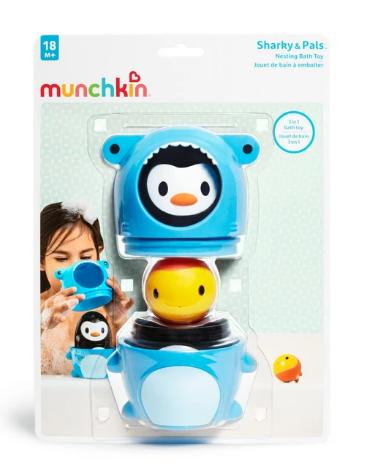 Munchkin Nesting Bath Toy 2- Παιχνίδια - Μπάνιου - creamsndreams.gr