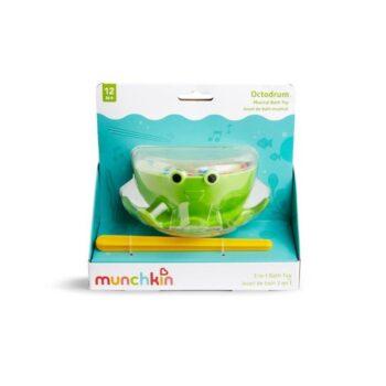 Munchkin Octodrum Musical Bath Toy Παιχνίδι Μπάνιου Σε Σχήμα Χταπόδι 12+ Μηνών - Παιχνίδια - Μπάνιου - Creamsndreams.gr