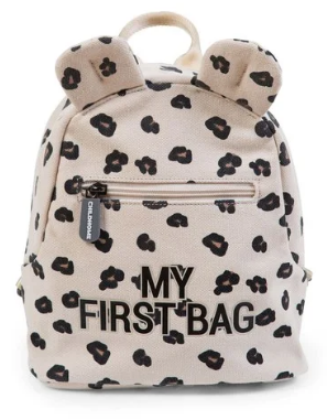 Childhome Σακίδιο Πλάτης kids My First Bag Leopard - Αξεσουάρ - Τσάντα - creamsndreams.gr