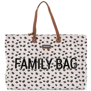 Childhome - Τσάντα Αλλαγής FAMILY BAG Light Leopard - Αξεσουάρ Τσάντες - creamsndreams