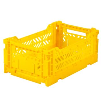 AYKASA Τελάρα Αποθήκευσης Small Yellow - Διακόσμηση - Αποθήκευσης - creamsndreams.gr