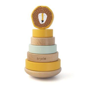 Trixie Wooden Stacking Toy mr Lion - Παιχνίδια - Ξύλινα - creamsndreams.gr