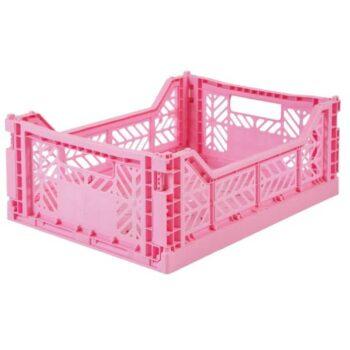 aykasa medium folding storage baby pink - Διακόσμηση - Αποθήκευσης - creamsndreams.gr