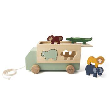 trixie wooden animal truck - Παιχνίδια - Ξύλινα -creamsndreams.gr