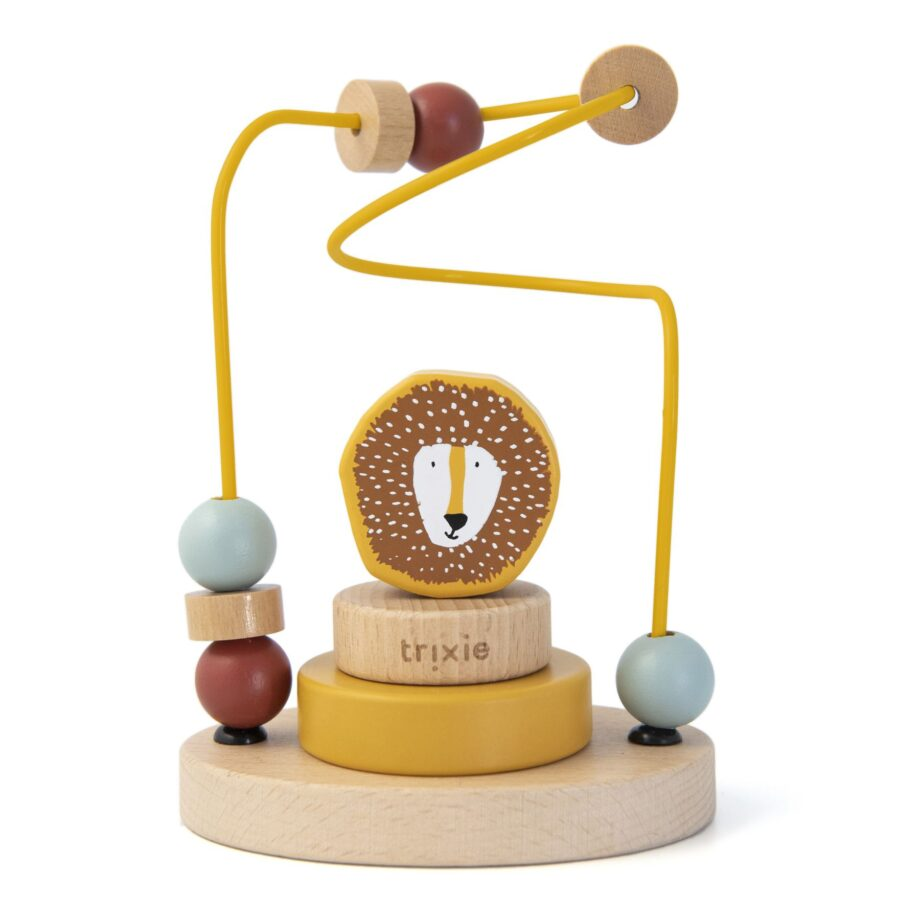 trixie wooden beads maze mr. Lion - Παιχνίδια - Ξύλινα -creamsndreams.gr